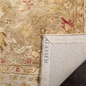 Antiquity Floral Rug - 11' x 17' - Wool - Brown