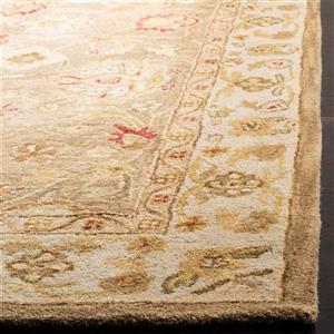Antiquity Floral Rug - 2.3' x 4' - Wool - Beige