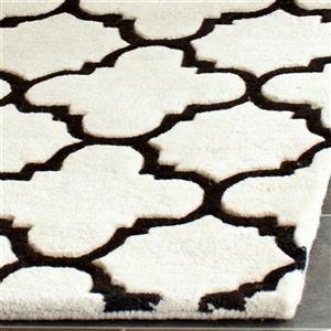 Chatham Geometric Rug - 8.8' x 12' - Wool - Ivory