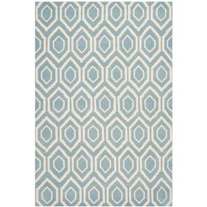 Chatham Geometric Rug - 8.8' x 12' - Wool - Blue