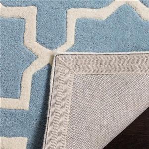 Chatham Geometric Rug - 8.8' x 12' - Wool - Blue