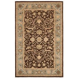 Antiquity Floral Rug - 8.3' x 11' - Wool - Brown/Green