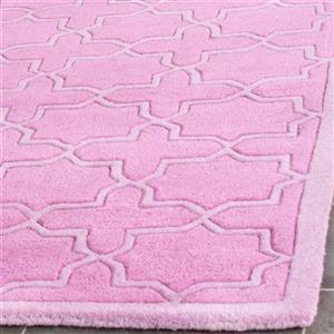 Chatham Trellis Rug - 2' x 3' - Pink