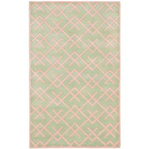 Chatham Geometric Rug - 3' x 5' - Green