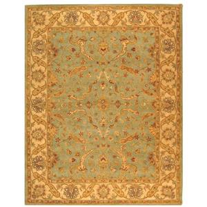 "Antiquity Decorative Rug - 8' 3"" x 11' - Teal/Beige"