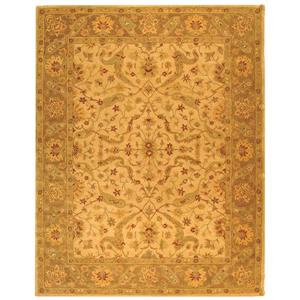 """Antiquity Decorative Rug - 8' 3"""" x 11' - Ivory/Brown"""