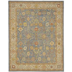 "Antiquity Decorative Rug - 8' 3"" x 11' - Blue/Ivory"