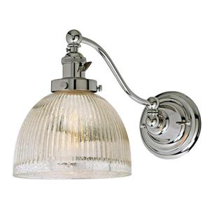 JVI Designs One light half swing mercury Madison  wall sconce - Chrome