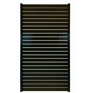 "Quick Screen Aluminum Gate - 40"" x 71"" - Black"