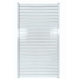 Stratco Quick Screen Aluminum Gate - 40-in x 71-in - White