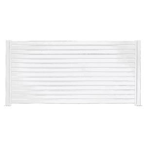 Stratco Quick Screen Aluminum Fencing Kit - 94-in x 71-in - White