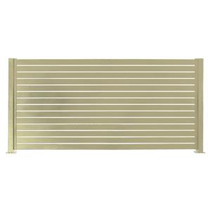 Stratco Quick Screen Aluminum Fencing Kit - 94-in x 71-in - Beige