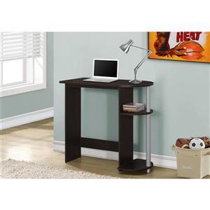 Monarch Kids Computer Desk - 32-in - Cappuccino
