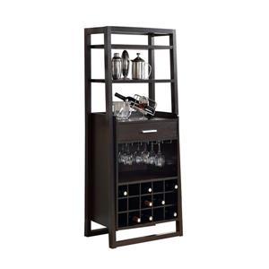 Monarch Home Bar - Cappuccino - 60-in
