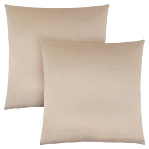 Monarch Decorative Pillow - 2 Pack - 18-in x 18-in - Gold