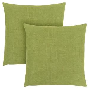 Monarch Decorative - 2 Pack - Pillow - 18-in x 18-in - Green