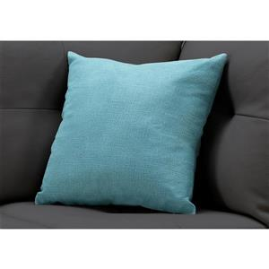 Monarch Decorative Corduroy Pillow - 18-in x 18-in - Green
