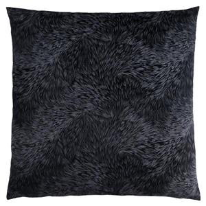 Monarch Decorative Corduroy Pillow - 18-in x 18-in - Black