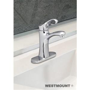 Westmount Yonkers Single Lever Bathroom Faucet - Polished Chrome