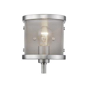 Golden Lighting Colson PW 1 Light Wall Sconce with shade in Pewter