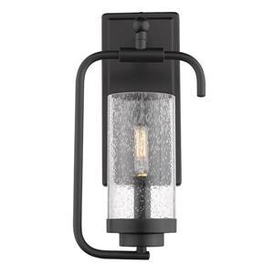 Golden Lighting Holden 1-Light Wall Sconce in Black