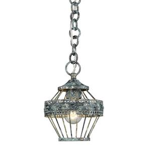Golden Lighting Ferris Mini Pendant Light - Blue