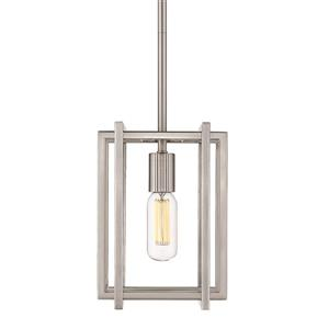 Golden Lighting Tribeca Mini Pendant Light - Pewter