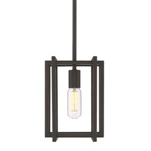 Golden Lighting Tribeca Mini Pendant Light - Black