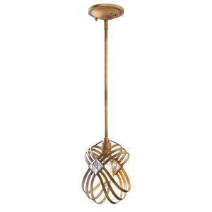 Golden Lighting Signet Mini Pendant Light - Royal Gold