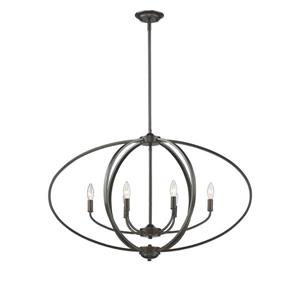 Golden Lighting Colson EB Linear Pendant Light - Etruscan Bronze