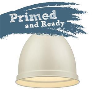 Golden Lighting Primed Small Pendant Light - Black