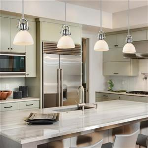 Golden Lighting Hines Mini Pendant Light - Chrome