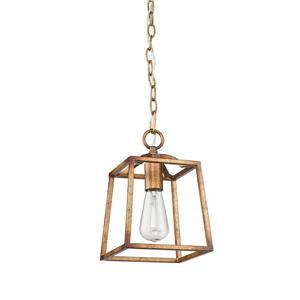 Golden Lighting Athena Mini Pendant Light - Grecian Gold
