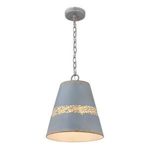 Golden Lighting Isabel 1-Light Pendant Light - Colonial Blue