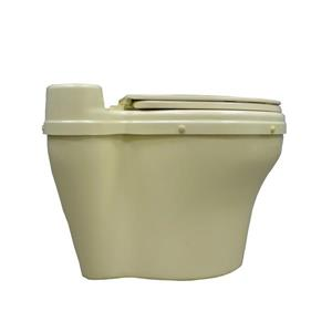 Sun-Mar Fibreglass Sun-Mar Dry Toilet - Round - Beige