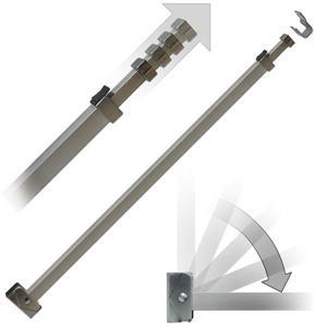 Ideal Security Patio Door Security Bar - Anti-Lift Lock