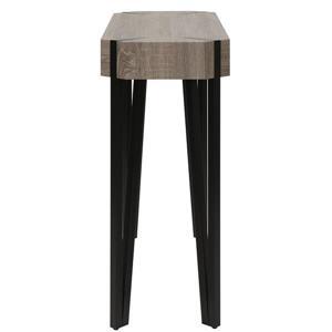 Worldwide Home Furnishings Console Table - 39.50-in x 31.50-in - Wood Veneer - Brown