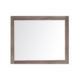 GEF Rosalie Vanity Set with Mirror, 43-in Soft Oak