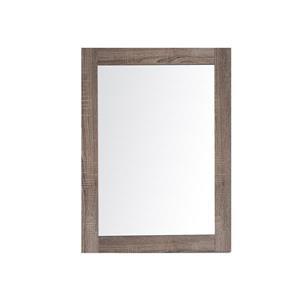 GEF Rosalie Vanity Set with Mirror, 24-in Soft Oak
