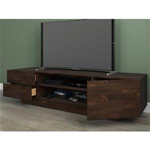 Nexera Morello TV Stand - 72-in  - Truffle