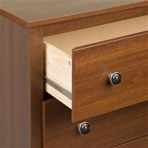 Prepac Monterey 2-Drawer Nightstand - Cherry