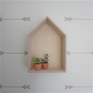 McNeil Cottage shelf - Wood - 9.5-in L x 5.25-in W