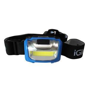 iGlow 2 COB Headlamps - Blue - Pack of 2