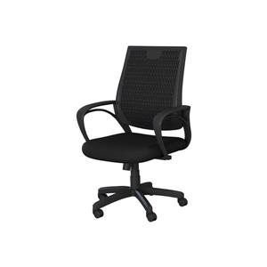 Safdie & Co. Office Chair Mesh Multi Position - Black  - 37-41-in