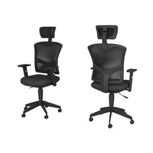 Safdie & Co. Executive Office Chair Mesh Multi Position - Black