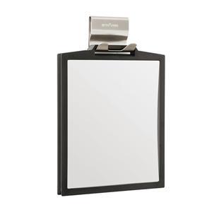Better Living DOPPIO Double Sided Magnifying Shower Mirror - Black