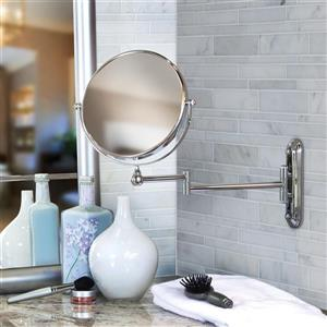 Better Living VALET Vanity Mirror for bathroom - 5X Magnify - 8-in