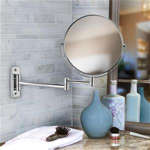 Better Living COSMO Vanity Mirror for bathroom - 5X Magnify - 8-in