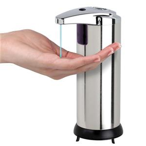 Better Living TOUCHLESS Dispenser - Stainless steel - 3-in x 4.5-in x 7.75-in
