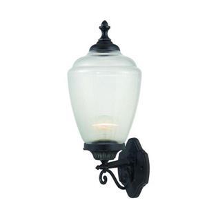 "Acclaim Lighting Acorn 1-Light Wall Mount Lantern - 9"" x 22.5"" - Black"